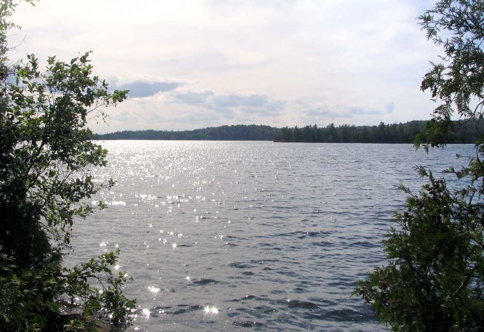 View of Birch Lake