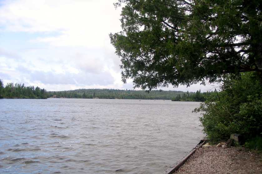 View of Moose Lake